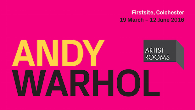 Andy Warhol ARTIST ROOMS Colchester